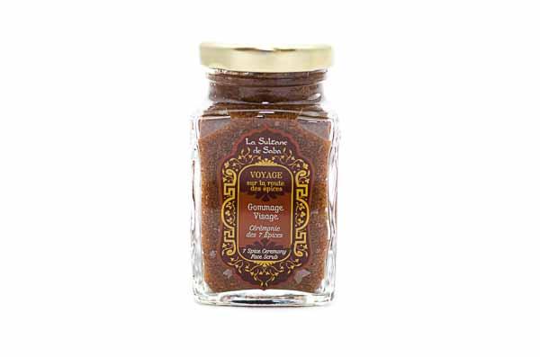 7 Spices Face Scrub from La Sultane de Saba