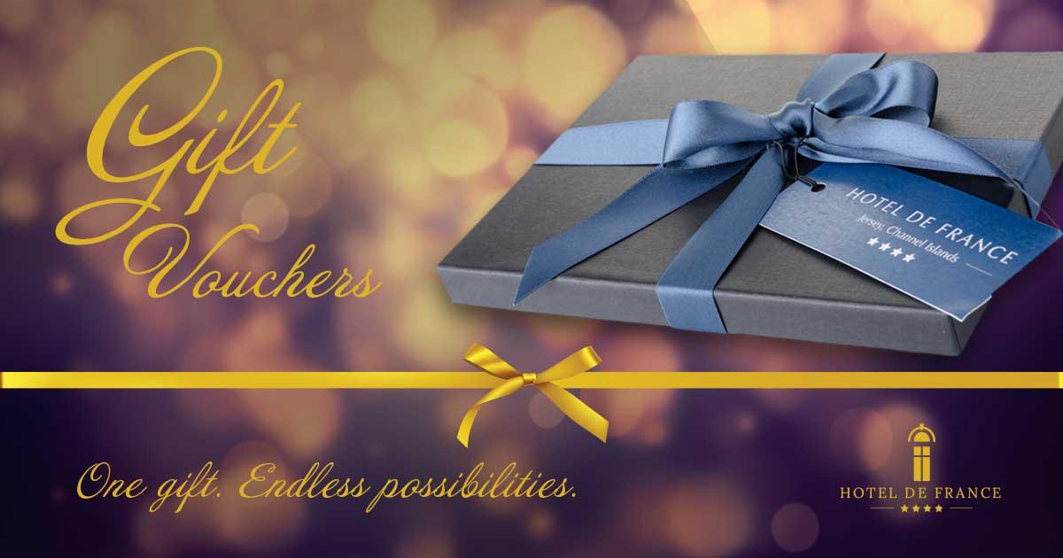 Gift Vouchers Hotel De France Jersey Channel Islands