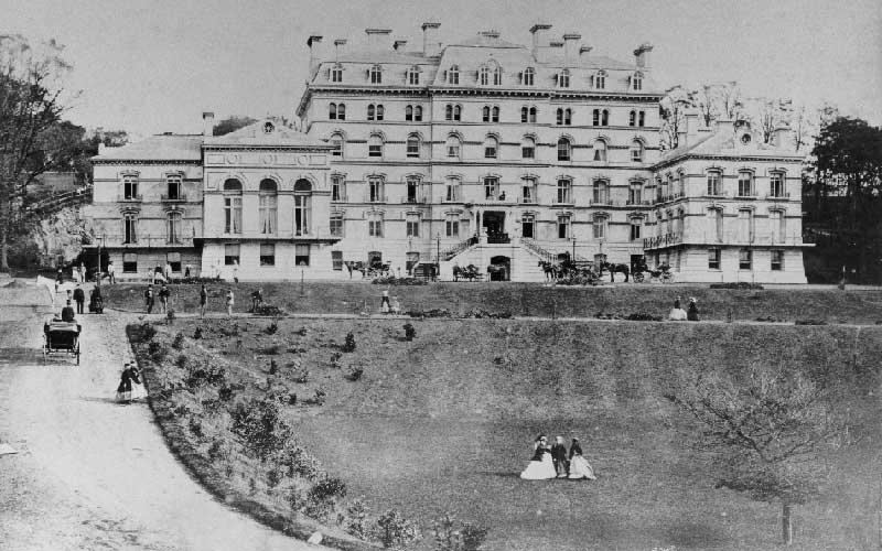 Hotel de France 1800s