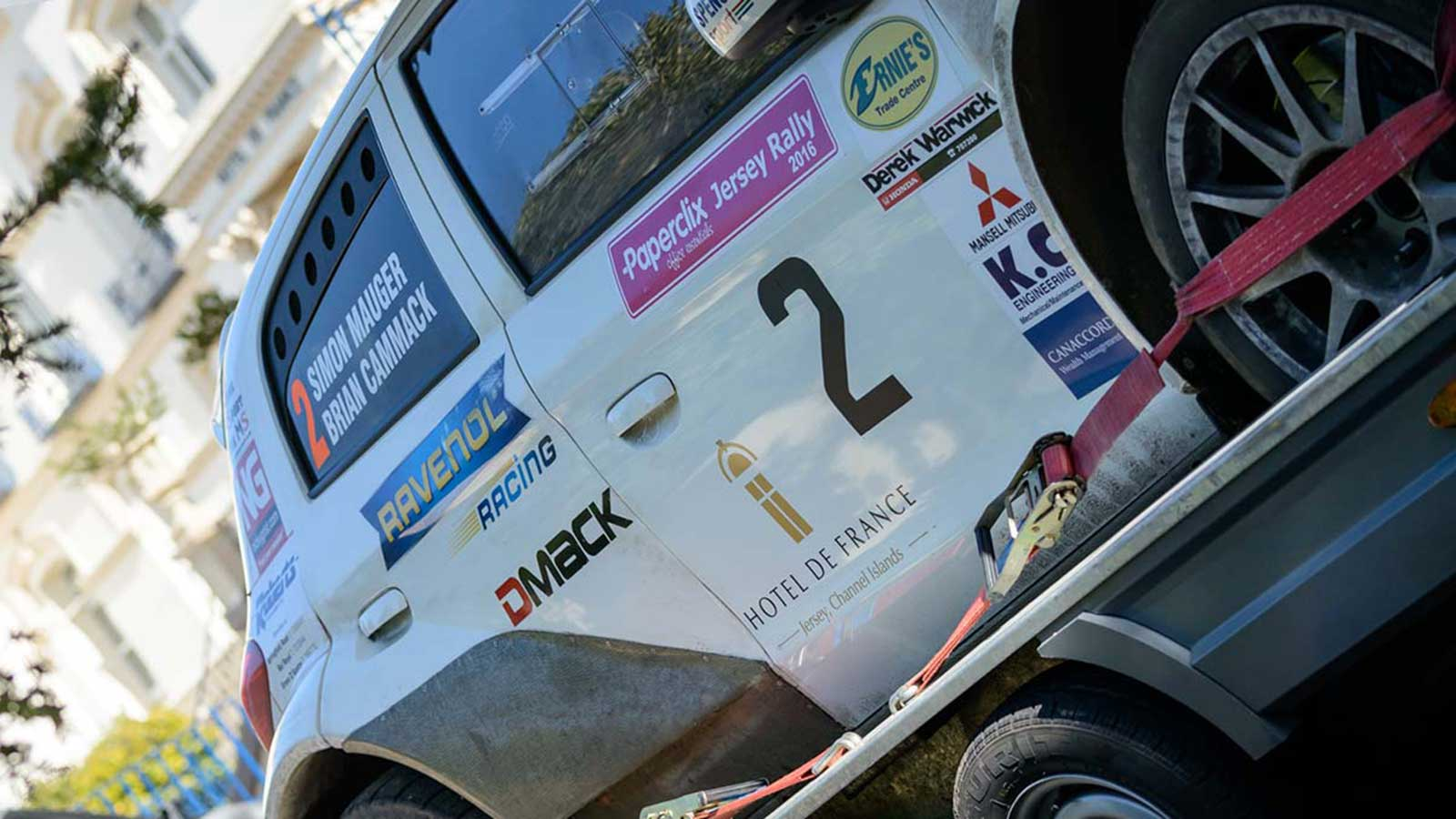 Sponsors of Jersey Rally