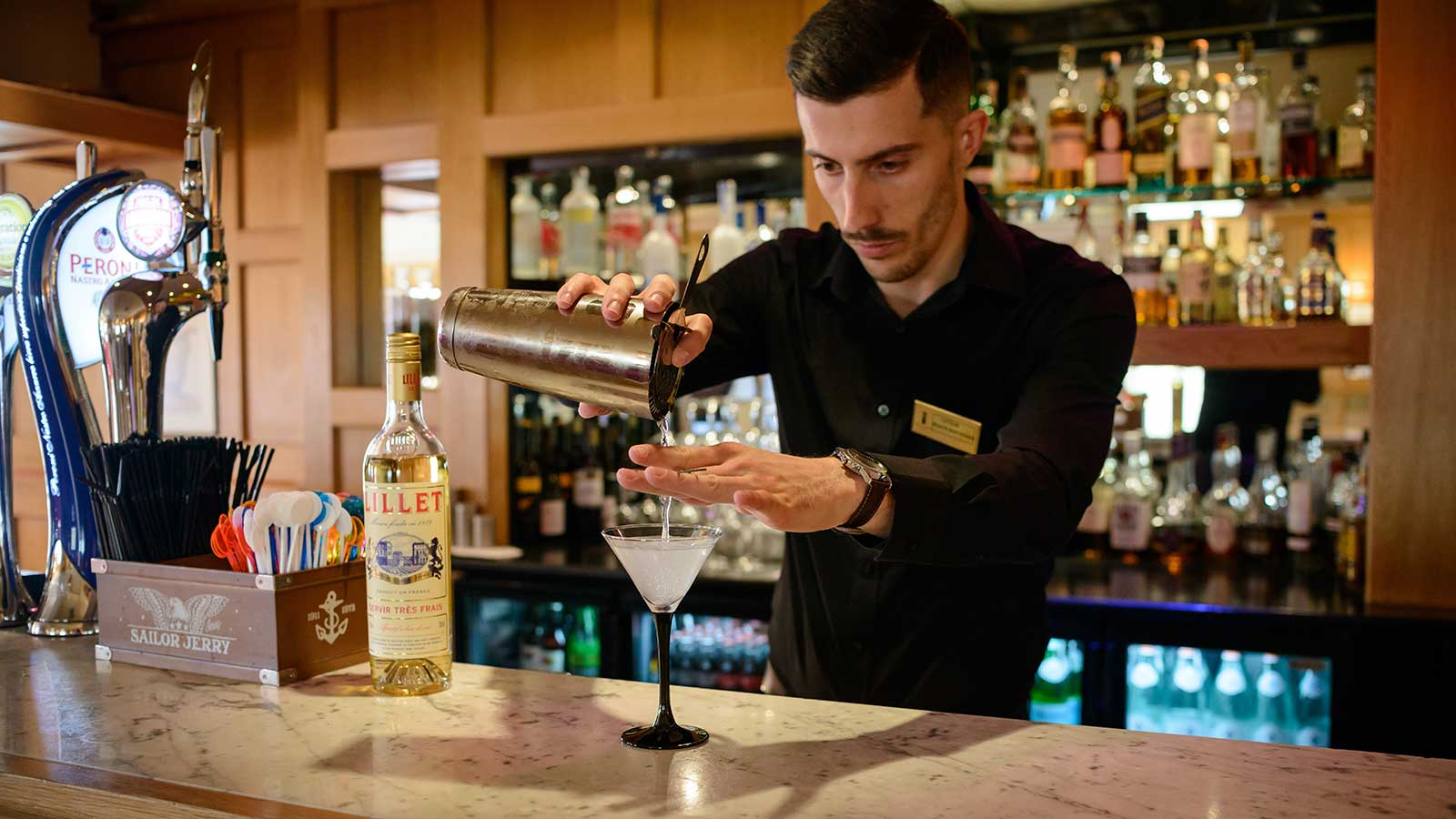Serving a Martini on World Cocktail Day