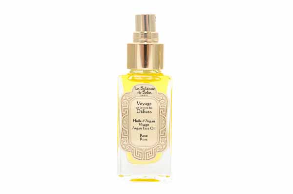 Argan and Rose Facial Oil from La Sultane de Saba
