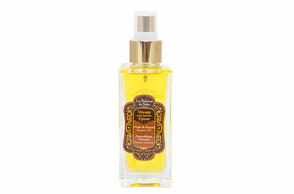 Ayurvedic Body Oil from La Sultane de Saba