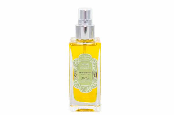 Green Tea & Ginger Body Oil from La Sultane de Saba