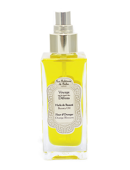 Orange Blossom Body Oil from La Sultane de Saba