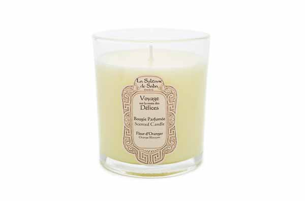 Orange Blossom Candle from La Sultane de Saba