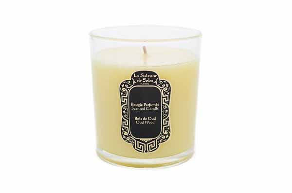 Oud Wood Candle from La Sultane de Saba