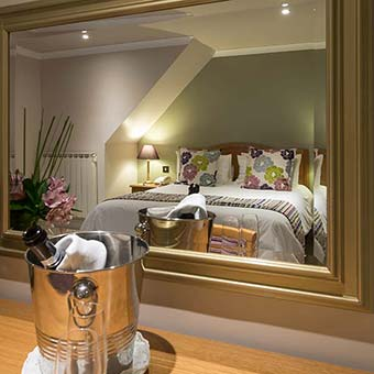 Comfortable double rooms