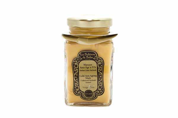 Gold Anti Aging Mask from La Sultane de Saba