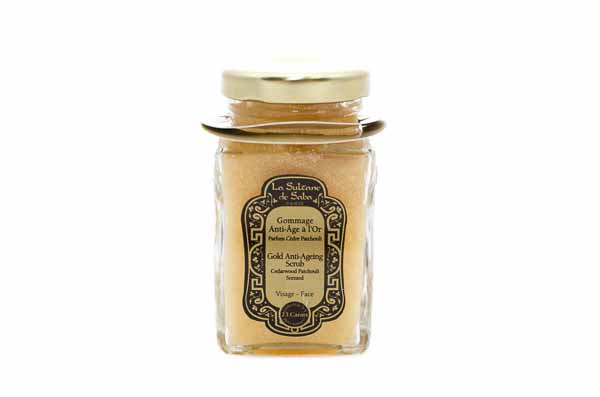 Gold Anti Aging Scrub from La Sultane de Saba