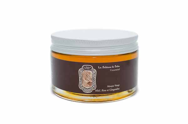 Honey Rose & Ginger Mask from La Sultane de Saba